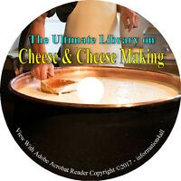Cheese & Cheese Making, Ultimate Library on CD - 46 Books, How to Make