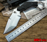 Super Sharp Karambit Fixed Blade Knife Outdoor Hunting Camping Tactical Durable