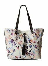 NWT Jessica Simpson Rodica Tote Bag, Summer Floral/Black, MSRP: $98.00