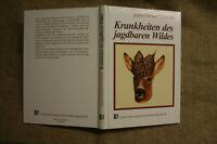 Fachbuch Jagd, Wild, Krankheiten des jagdbaren Wildes, Jäger, DDR 1995