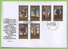 Liechtenstein 2004 Saints (2nd series) set on First Day Cover