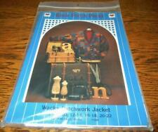 WACKY PATCHWORK JACKET BY BACK PORCH PRESS 1996 QUILT/SEWING PATTERN