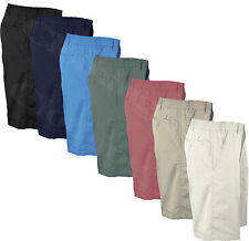 Cotton Big & Tall Flat Front Shorts for Men