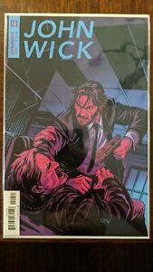 John Wick #1 First Print First John Wick in Comics