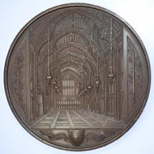 """Recepción indio 1886 y colonial en la """"Guildhall Medalla de la serie ciudad de Londres"""