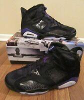 Nike Air Jordan 6 Retro SP Size 11.5 Black Concord AR2257 005 Social Status Pony