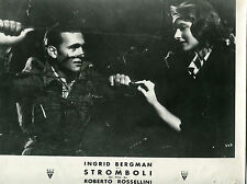 STROMBOLI ROSSELLINI BERGMAN 1949 RKO ISOLE EOLIE VULCANO