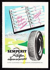 3w2105/ Alte Reklame von 1960 - SEMPERIT Reifen - Semperit Gummiwaren - München