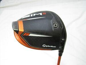 Used Sim2 Custom Taylormade My Sim2 9* Driver (Orange) Tour AD Di-6 Stiff S