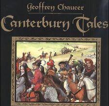 The Canterbury Tales by Geoffrey Chaucer Audio Book MP 3 CD 12 hours