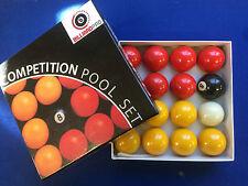 jeu de bille, boules billard 8 pool anglais *** NEUF PRO 50.8 mm