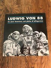 LUDWIG VON 88 - CE JOUR HEUREUX EST PLEIN D'ALLEGRESSE - FRENCH PUNK - NM/NM!!!