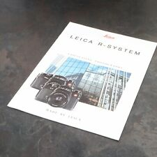 "* Leica R - System ""Fascinating photography"" Literature Manual 3 Available"