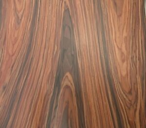 """Rosewood composite wood veneer 48"""" x 96"""" with paper backer 1/40"""" thick # 2305"""