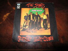 THE SAINTS EROTIC NEUROTIC Italian 1977 Original 45 Killer Punk Very Rare Hear