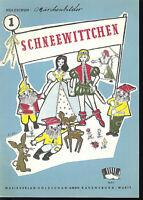 """"""" Märchenbilder Nr. 1 Schneewittchen """" Holzschuh"""