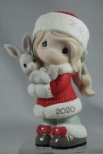 Precious Moments-'Every Bunny Loves A Christmas Hug' Figurine 2020 #201001