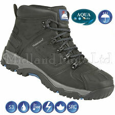 Himalayan Mens Waterproof S3 Ankle Safety Boot 5206bk100 10