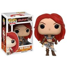 Funko Pop! Vinyl * Red Sonja * #158 Pop Movies Bobblehead Conan Figure Toy
