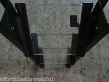 Louvre Window Frames 1270mm Black