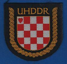 UHDDR- Association of Croatian Homeland War Volunteers 1993, CROATIA ARMY PATCH