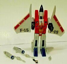 G1 Transformers Starscream Diaclone Jet F-15 Robot Toy Hasbro Action Figure 1985