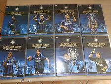 OPERA COMPLETA 8 DVD LEGGENDA FC INTER 2010 TRIPLETE MOURINHO OFFICIAL PRODUCT