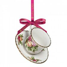 Royal Albert - Ornament Cup The with tray Old Country Roses - DEALER