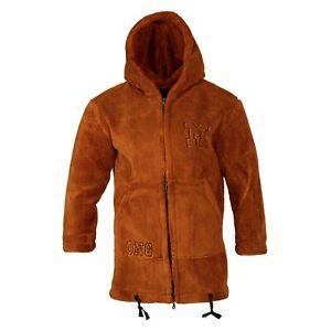 Unisex Xtra Camouflage Coat Orange Fleece