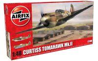 AIRFIX® 1:48 CURTISS TOMAHAWK MK.II BRITISH WW2 MODEL AIRCRAFT PLANE KIT A05133