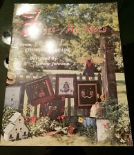Forget-Me-Nots embroidery applique quilt pattern booklet Country Threads