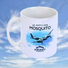 De Havilland Mosquito Mug - Vintage WW2 Military RAF Royal Air Force Cup NEW