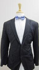 BANANA REPUBLIC Lanificio Cerruti Mens Black Wool 2-Button Blazer 42R