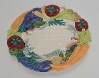 "Fitz And Floyd Vegetable Garden 12 1/2"" Serving Platter"