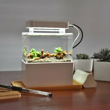 'Mini Complete Tank' Shrimp / Aquascape / Nano Desktop Fish Aquarium