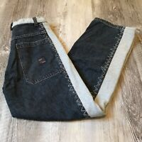 Paco Elite Baggy Fit Straight Leg Jeans Youth Size 18