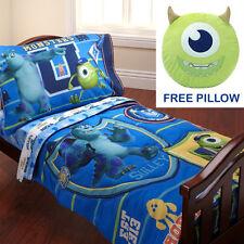 "Monsters, Inc. ""Property of Mu"" 4 pc. Toddler Bedding Set by Disney Pixar"