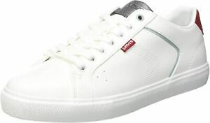 Levi's Woodward 2.0 White Red White Mens Trainers