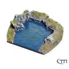 Tabletop / Terrain / Gelände / modularer Fluss / Endstück