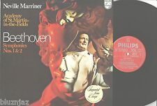 N. Marriner~Beethoven Symphonies NOs.1&2~Academy of St. Martin-in-the-Fields NM-