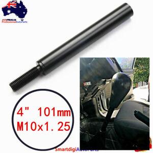 "4"" 101mm Gear Stick Extension M10x1.25 Shift Extender For Nissan Patrol GQ GU"
