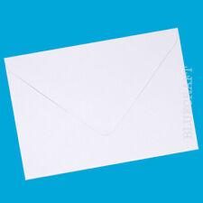 "100 x A6 C6 Quality Diamond White 100gsm Gummed Invite Envelopes - 6.37 x 4.48"""
