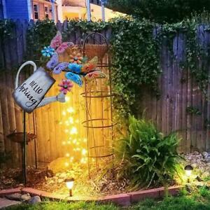 Watering Can Fairy Lights Garden Home Feature Led String Light Patio Ornament