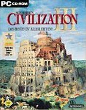 Sid Meiers CIVILIZATION 3 Komplett Deutsch Sehr guter Zustand