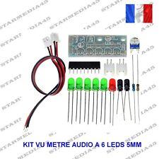 KIT VU METRE AUDIO A 6 LEDS 5MM - CIRCUIT INTEGRE KA2284 / 3.5 A 12V (63B)