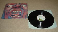 King Crimson In The Court Of the Crimson King Vinyl LP + Original Inner - VVG