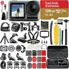 2019 DJI Osmo Action Camera with 128GB SanDisk Micro SD All You Need Bundle