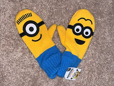 Minions Mittens New With Tag Universal Studios