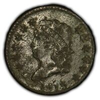 1813 1c Classic Head Large Cent - Mid-Grade Detail - SKU-Y2046