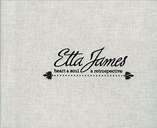 Heart & Soul: A Retrospective by Etta James (CD, Oct-2011, 4 Discs, Hip-O Select